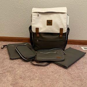 Sleepy Panda Kaitlyn Diaper Bag